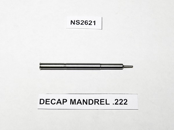 DECAP MANDREL .222