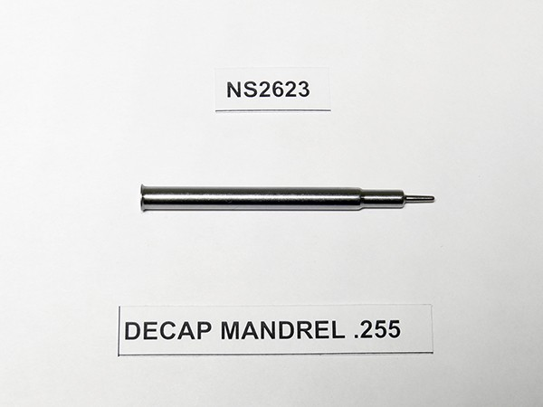 DECAP MANDREL .255