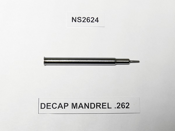 DECAP MANDREL .262