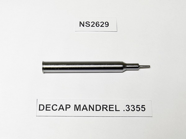 DECAP MANDREL .3355