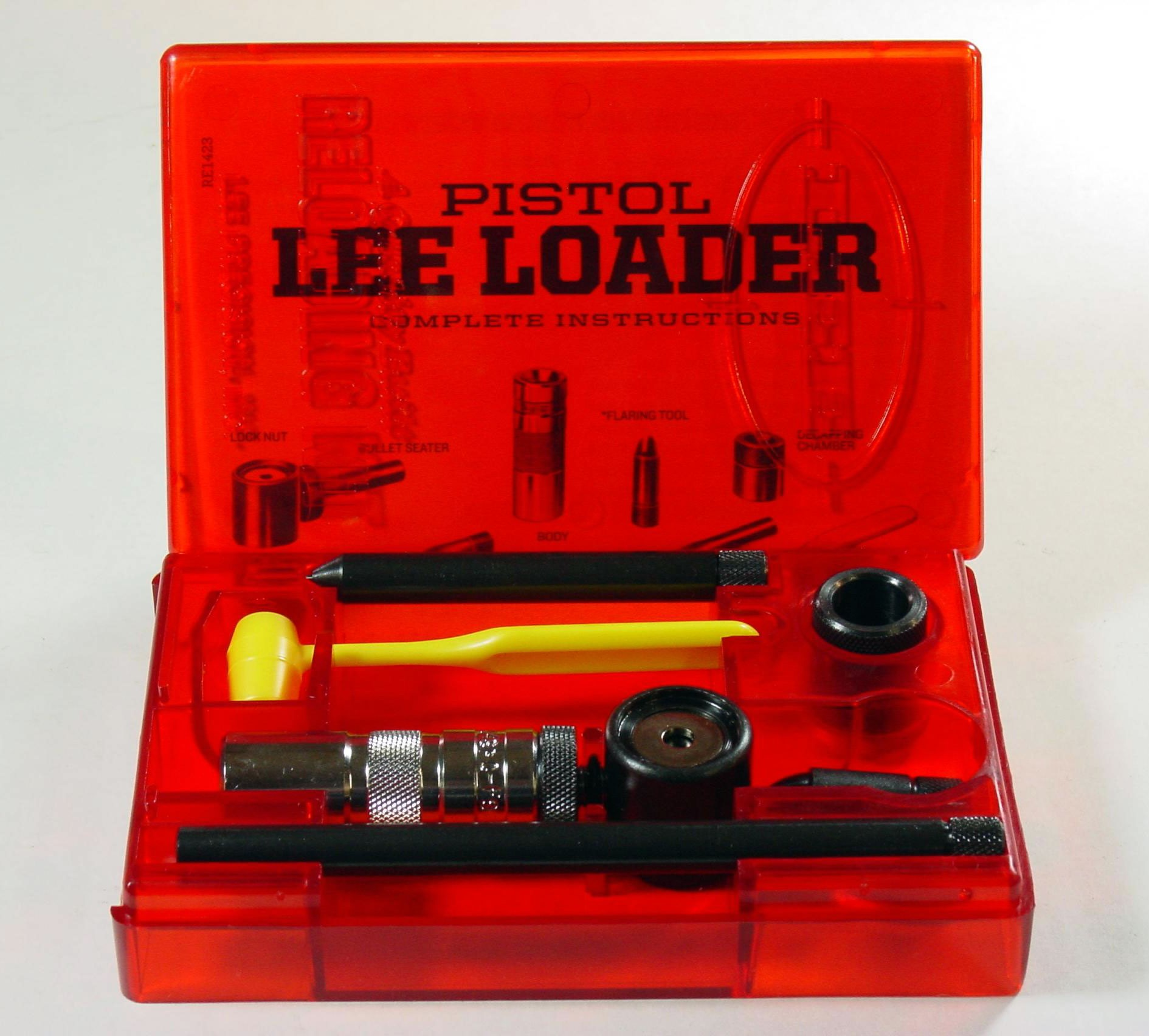 Lee loader reloading kits are perfect for beginners and survival kits.