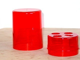 DIE BOX ROUND RED