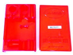 *BOX&LID RED PLASTIC