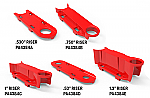 MOLDED PARTS RISERS